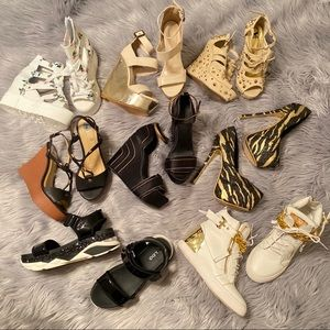 Random Shoe bundle Tory Burch, Aldo, TjMaxx brands